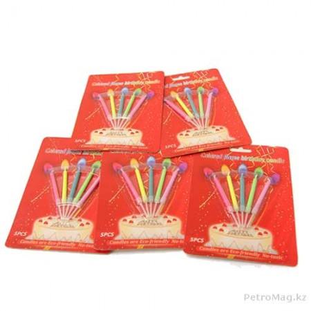 Свечи цветопламенные (5шт)