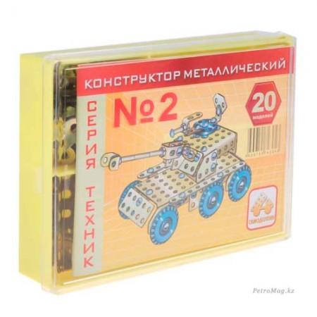 "Конструктор ""Техник"" №2 (195 эл.)"