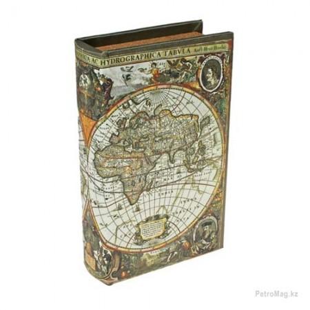"""Книга- сейф """"Карта первооткрывателей"""""""