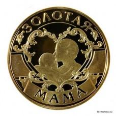 Монета 'Золотая мама'