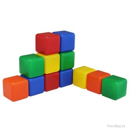 Набор цветных кубиков (12 шт.)