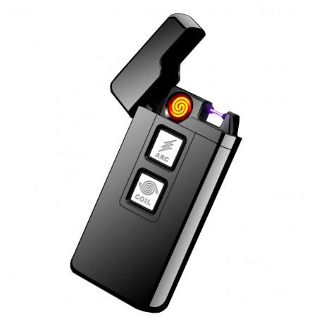 USB зажигалка ARC 2 в 1 (дуга+спираль)