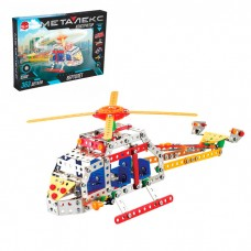 Металлический конструктор «Вертолёт», 363 детали
