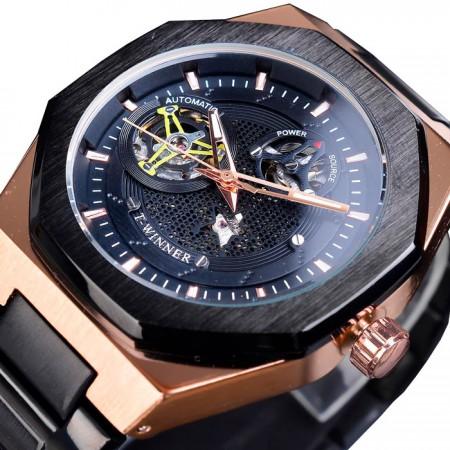Механические часы T-Winner Skeleton
