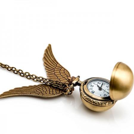 Часы кулон Снитч (Гарри Поттер)
