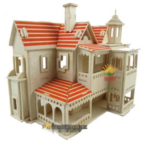 3D пазл Загородный дом